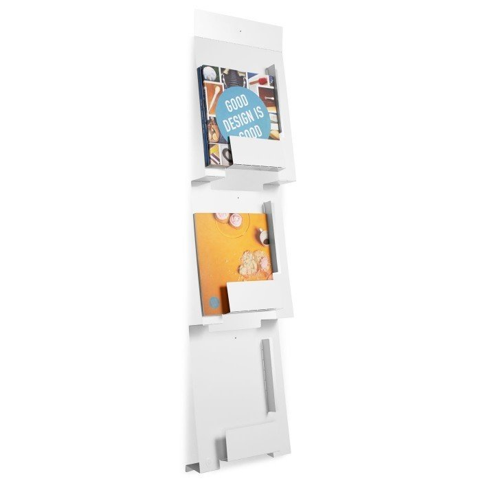 Artfully display your magazines against the wall to avoid clutter. Tagged: Storage Room and Shelves Storage Type.  Photo 9 of 12 in 10 Functional Pieces For Small Space Living