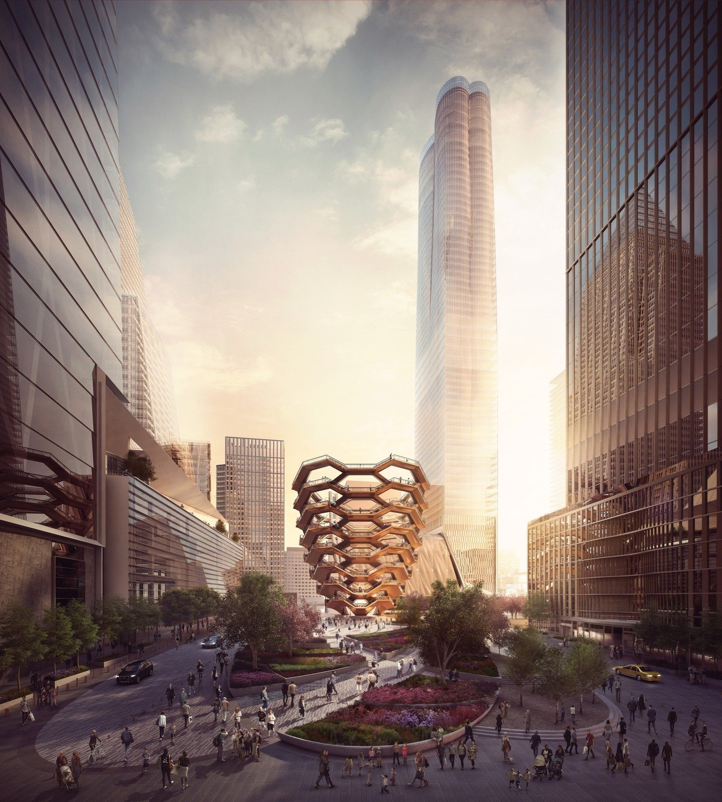 Photo 1 of 4 in A New Kind of Public Landmark: New York's Interactive Centerpiece by Heatherwick Studio