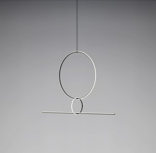The Best Things We Saw at Milan Design Week 2017 - Photo 6 of 10 - The latest of many collaborations between Michael Anastassiades and Flos, Arrangements, seen at Euroluce, is a modular lighting system that can be fashioned into many different compositions.