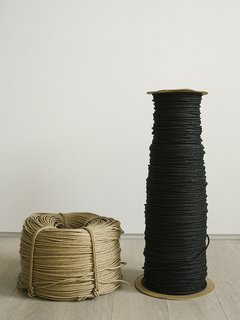 Warp Speed - Photo 3 of 12 - Woven paper cord is a natural, cool, comfortable, and durable material. The variety that Carl Hansen & Søn employs is treated with a thin layer of wax, which helps to prevent stains.