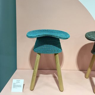 The Best of New York Design Week 2017 - Photo 2 of 35 - Umbra Shift presented a Coil stool designed by Harry Allen that's inspired by traditional basketweaving found in the Philippines.
