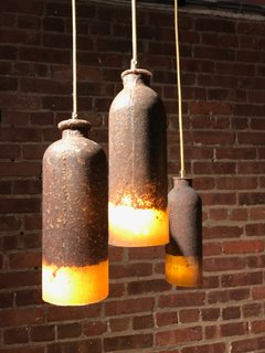 The Best of New York Design Week 2017 - Photo 4 of 35 - The US debut of the cork-and-silicone Loev pendants by Dutch industrial designer Renate Vos, who is quickly making a name for mixing unusual materials to bold effect. Spotted at Wanted.