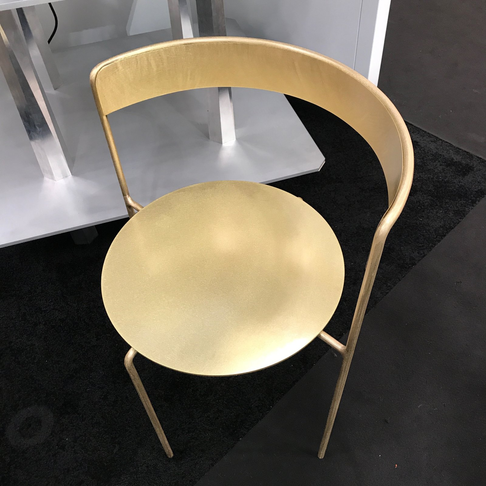 The Brass Avoa chair, designed by Pedro Paolo Venzon for Matter.  Photo 7 of 36 in The Best of New York Design Week 2017