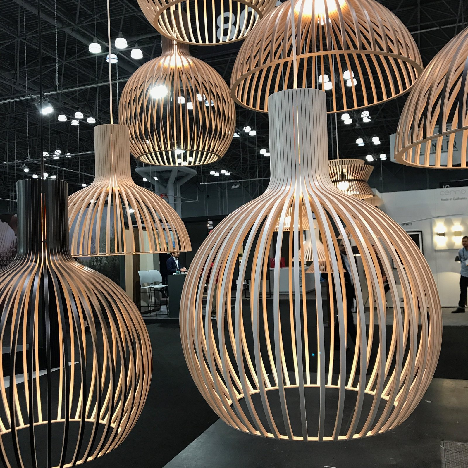 We were happy to see the US reintroduction of Secto Design's line of handcrafted Finnish lighting pieces made of Scandinavian birch. As of this week, the pieces will be stocked and distributed throughout the US via a Wisconsin warehouse. The entire collection is designed by Finnish architect Seppo Koho. The Best of New York Design Week 2017 - Photo 13 of 36