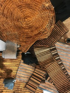The Best of New York Design Week 2017 - Photo 15 of 35 - Lulu Mena, an El Salvador-based textile company, presented a recycled-copper textile. They make everything by hand using sustainable practices, working with local artisans.