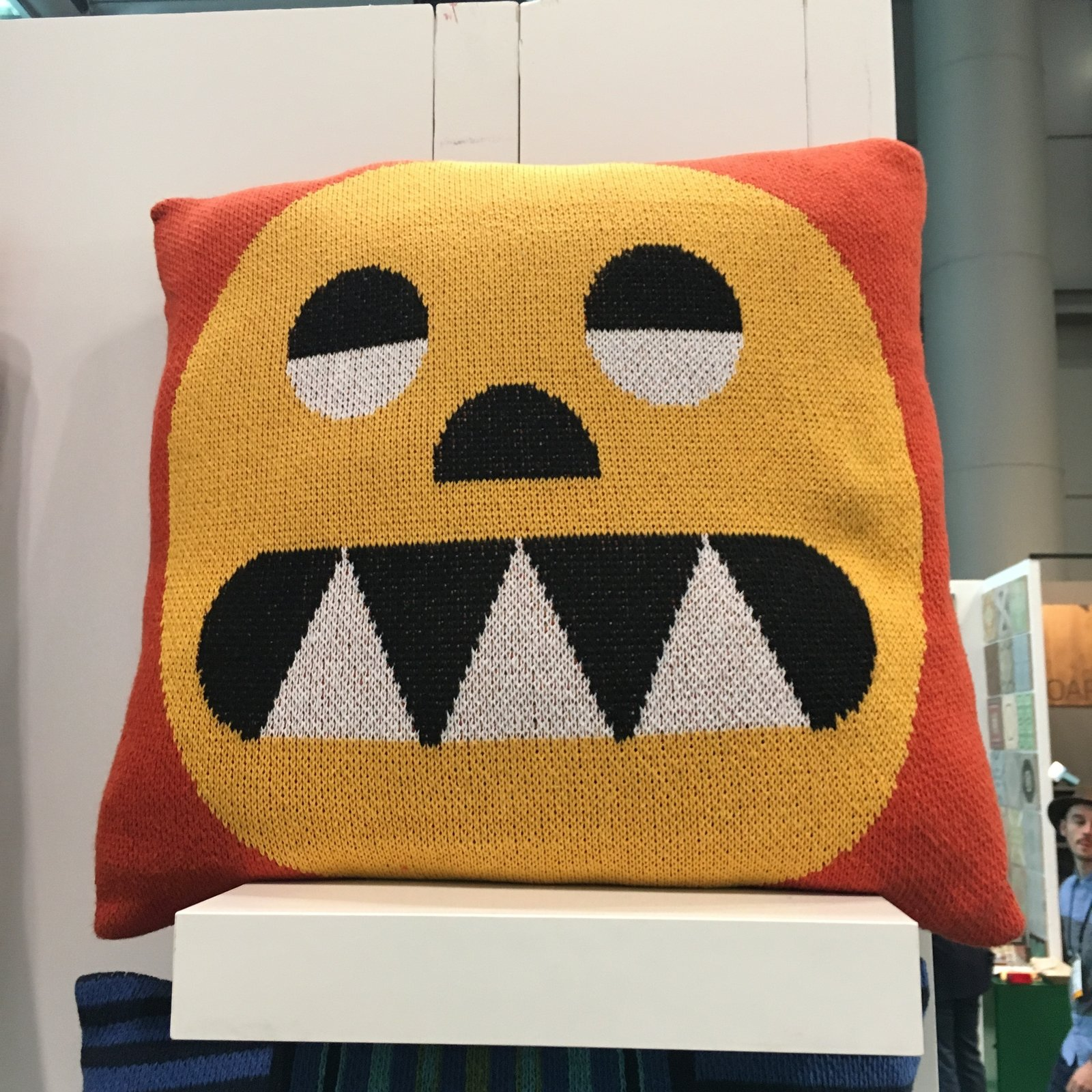 DittoHouse displayed their pillows and blankets at the Milk Stand, which was ICFF's only stoppable area on the show floor. Led by designer Molly Fitzgerald, DittoHouse utilizes pre- and post-consumer textile waste for their products. They do not introduce new dyes, which eliminates water waste and chemical run-off. Everything is made in the USA. The Best of New York Design Week 2017 - Photo 17 of 36