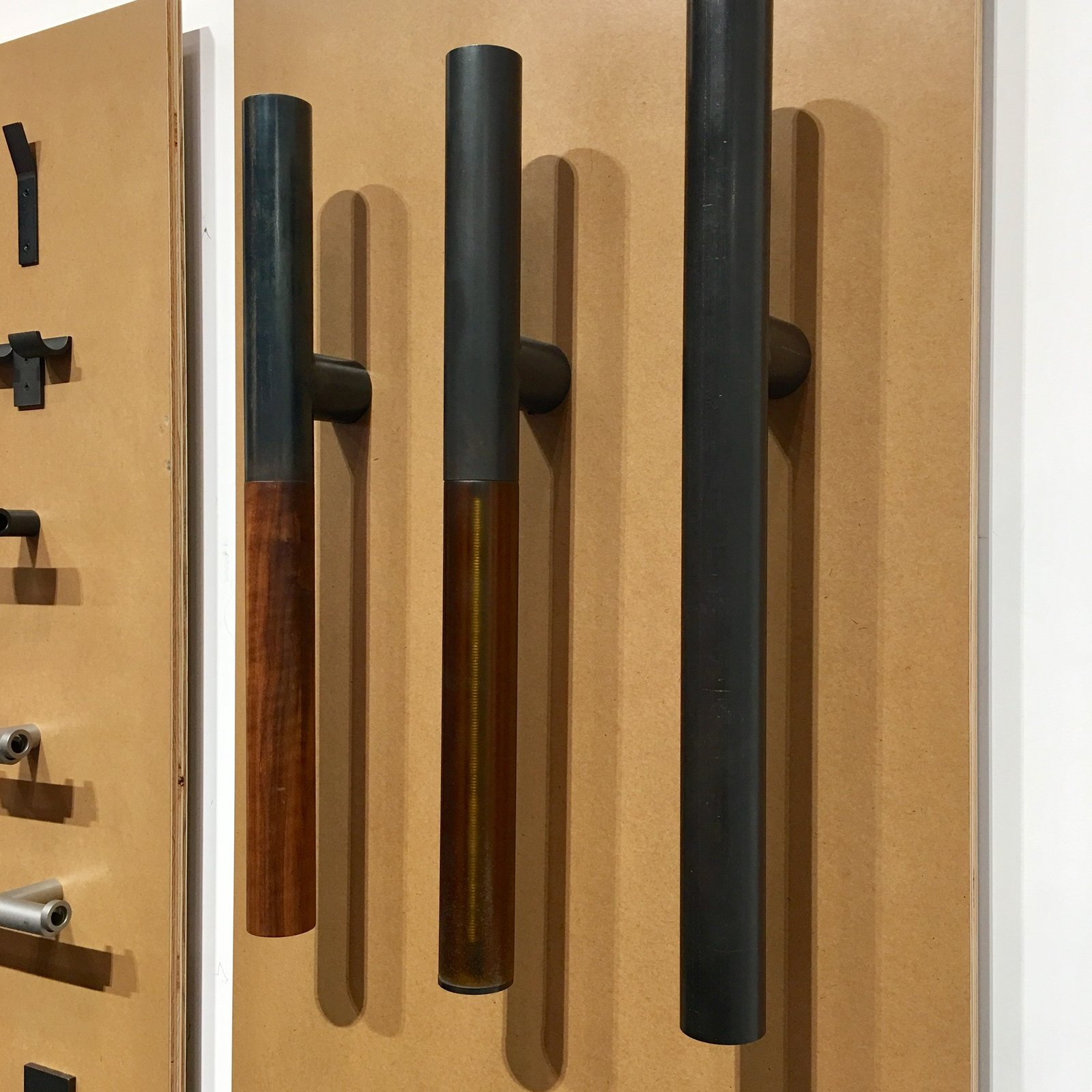 12th Avenue Iron debuted the Tom Kundig Collection, a series of steel accessories.
