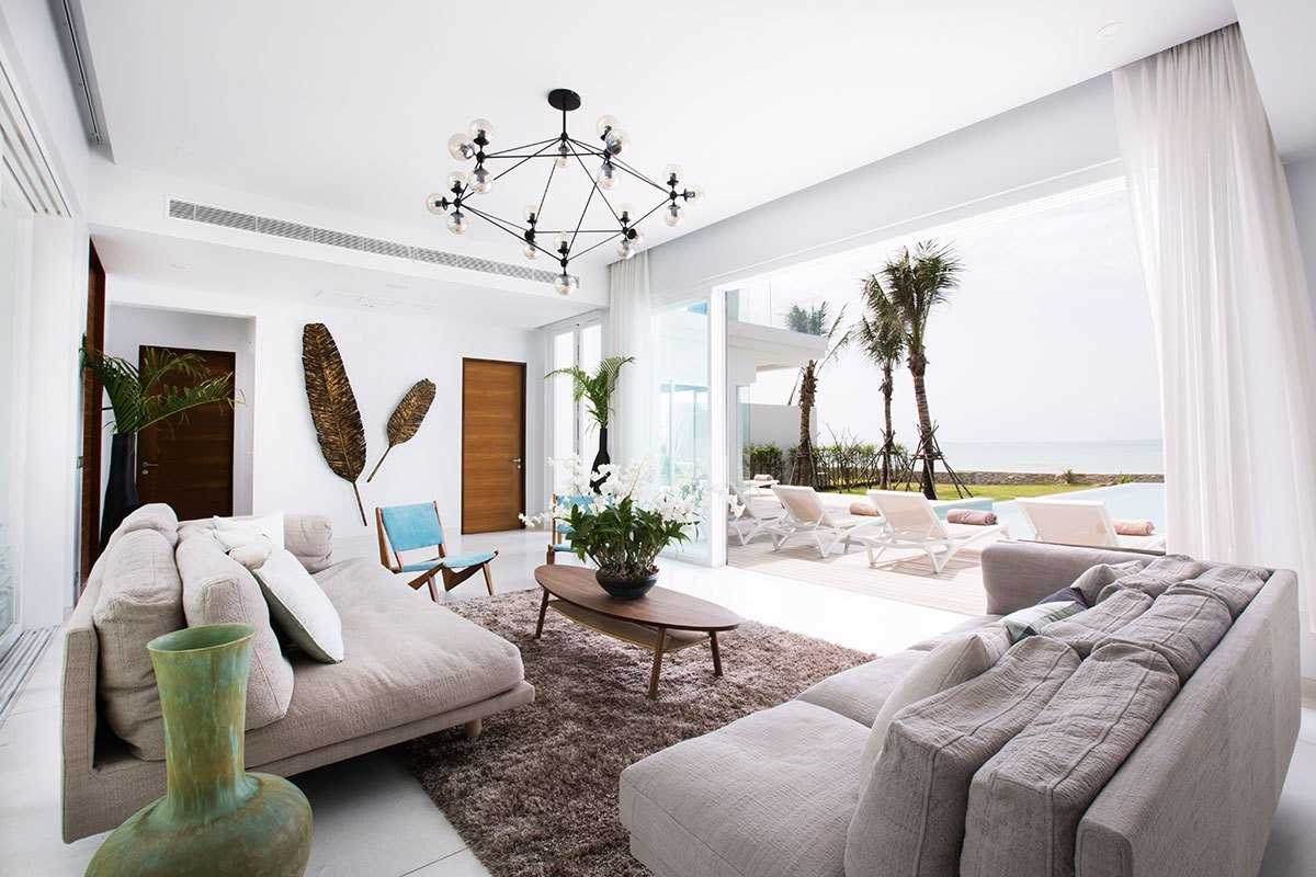 Photo 1 of 11 in Escape to a Thai Beach House That Showcases the Work of Multiple Contemporary Designers