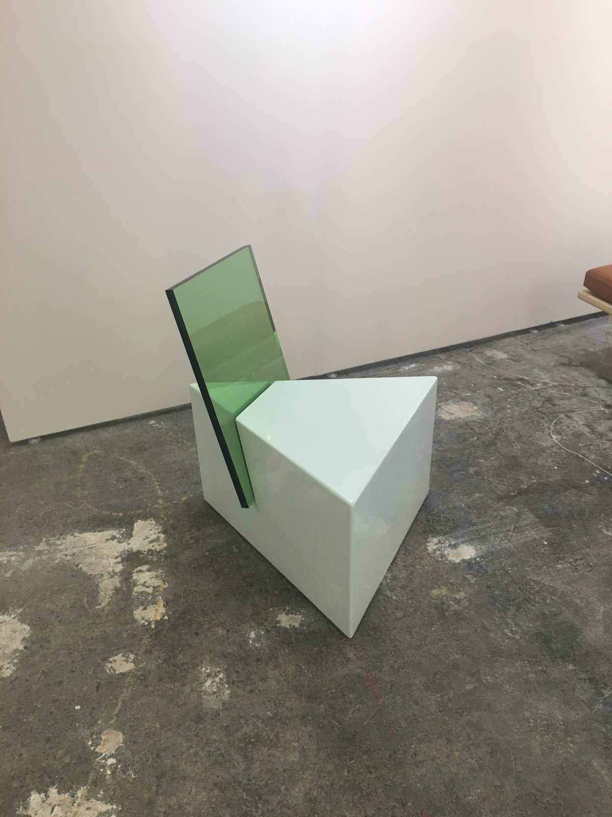 Tension is the theme of Nun x Office GA's half-glass chair, displayed at Site Unseen.  Photo 33 of 36 in The Best of New York Design Week 2017