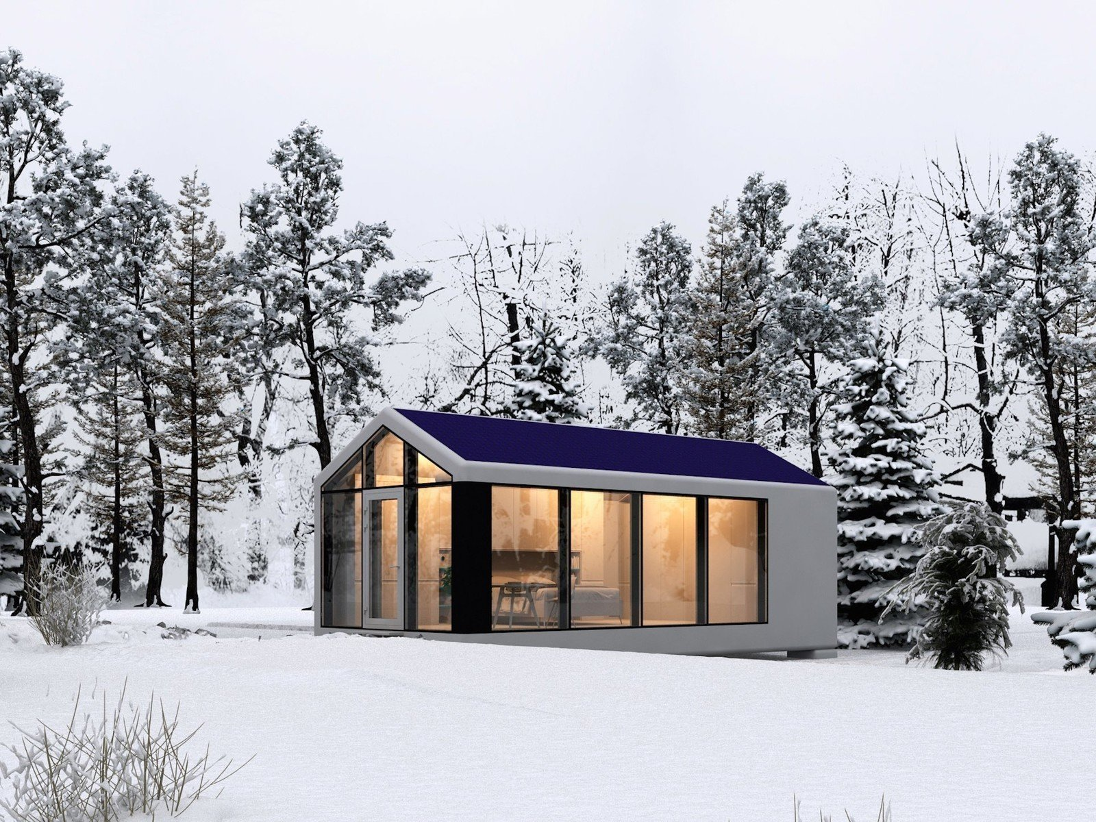 Tagged: Outdoor.  Photo 1 of 6 in This Zero-Energy Passive Mobile Prefab Was Partially 3D Printed