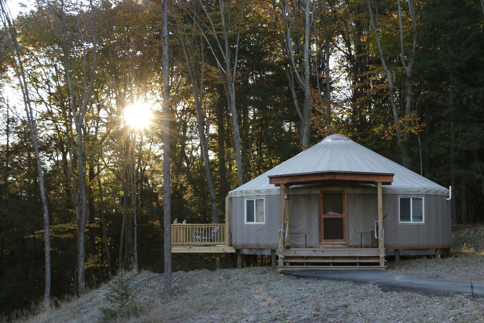 Photo 5 of 10 in 9 Yurt Vacation Rentals For the Modern Alternative Camper