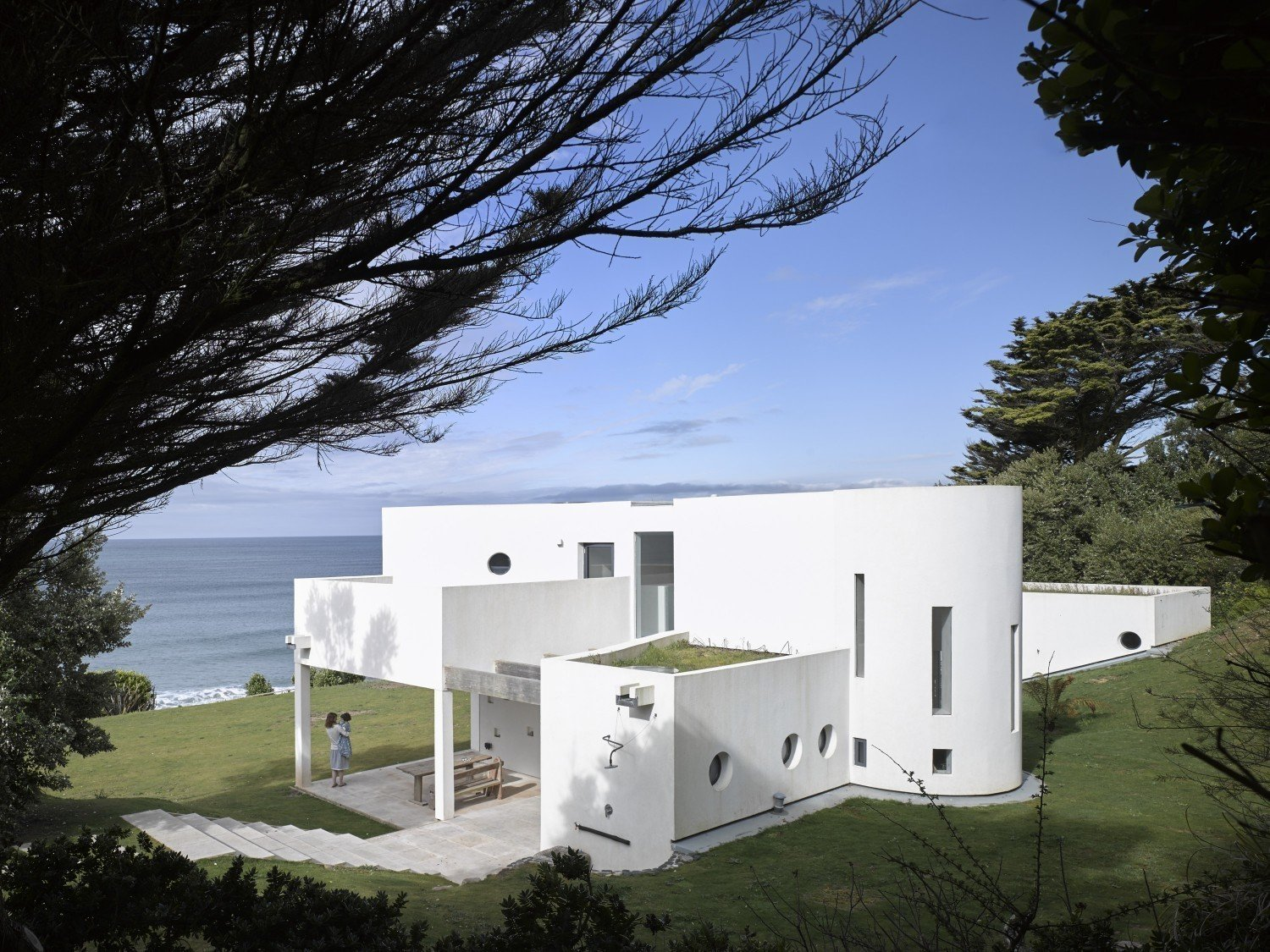 "Tagged: Outdoor.  Photo 1 of 11 in An Architect's Big ""Little Cottage"" That You Can Rent on the South  Coast of Cornwall"