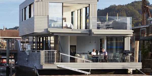 Modern home with outdoor. Photo  of Floating Dreams Residence