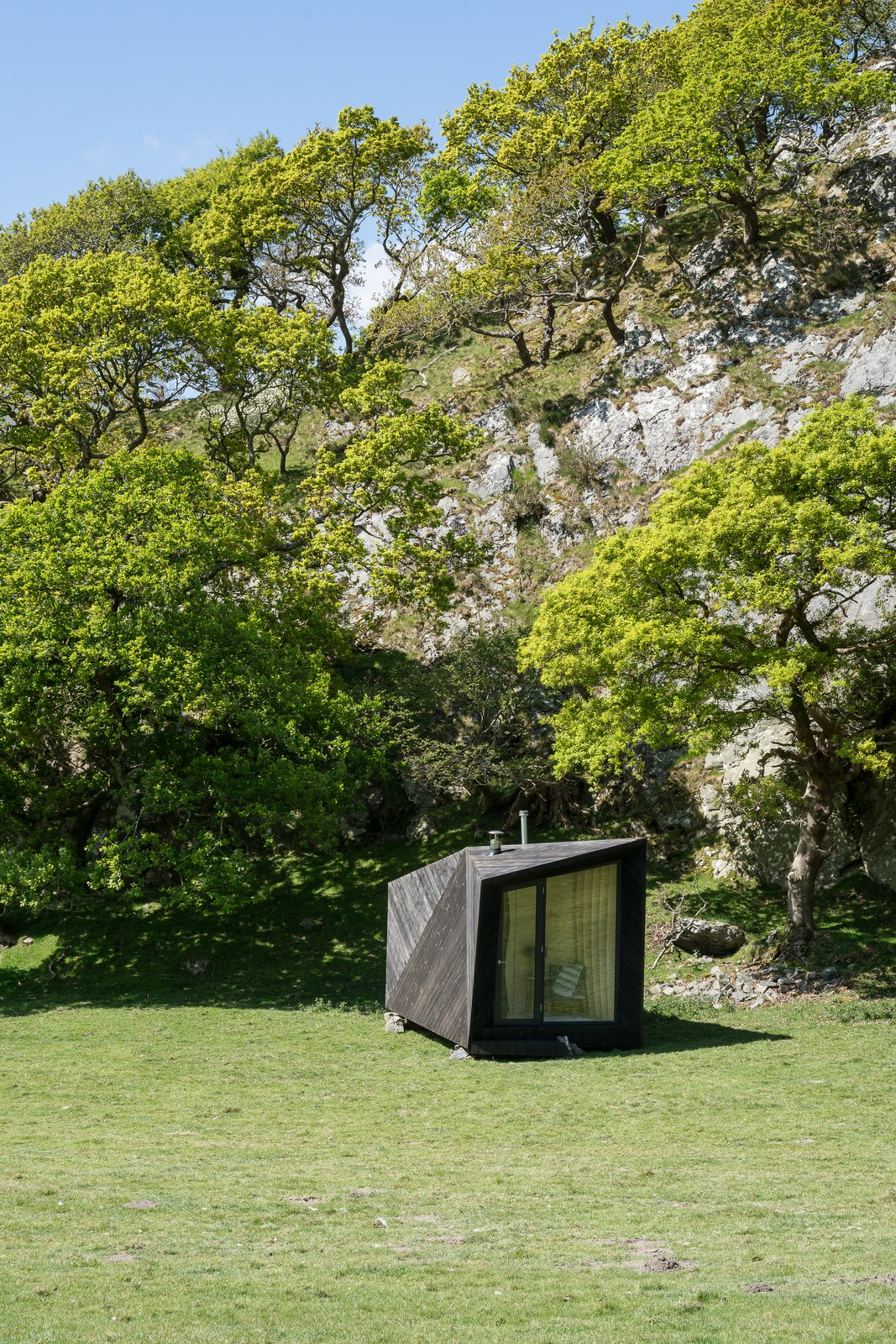 Photo 2 of 11 in Tour One of Epic Retreat's Tiny Pop-Up Hotel Cabins in the Welsh Countryside