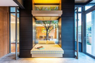 Cool, Asian Courtyard Home With A Brutalist Core - Photo 10 of 10 -