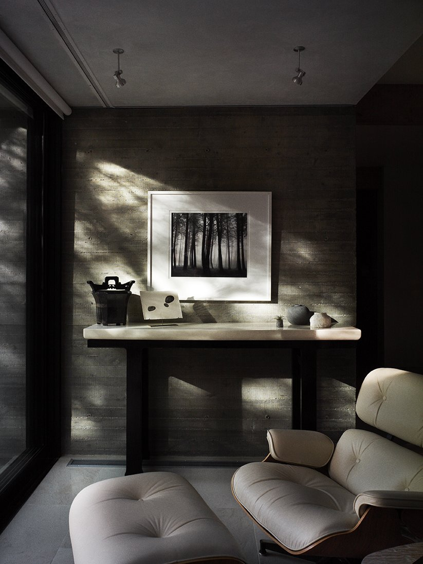 The lacquered console is by Robert Kuo. In Praise of Shadows - Photo 7 of 15