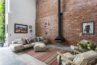 10 Modern Homes in London - Photo 1 of 10 - Formerly a cooperage where barrels for a local brewery were made, this four-bedroom holiday rental home in Clerkenwell was converted by Chris Dyson Architects.