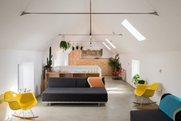 Modern home with living room. Photo  of Salthouse