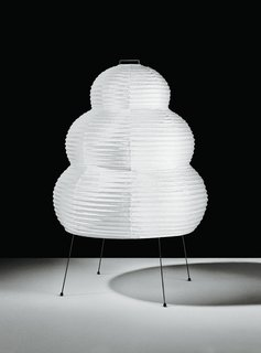 Spotlight on Isamu Noguchi's Innovative and Iconic Paper Lanterns - Photo 1 of 1 - Isamu Noguchi designed more than 200 Akari lanterns, all of which are still handmade at the same family-owned factory in Gifu, Japan.