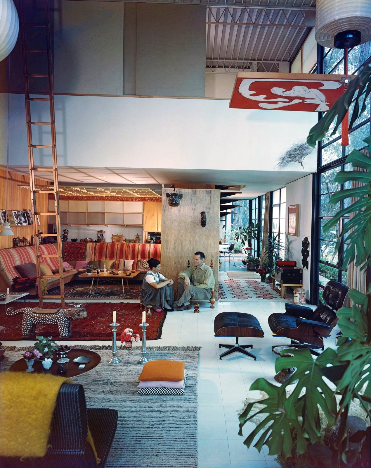 Eames House by Charles and Ray Eames, Pacific Palisades, CA 1949