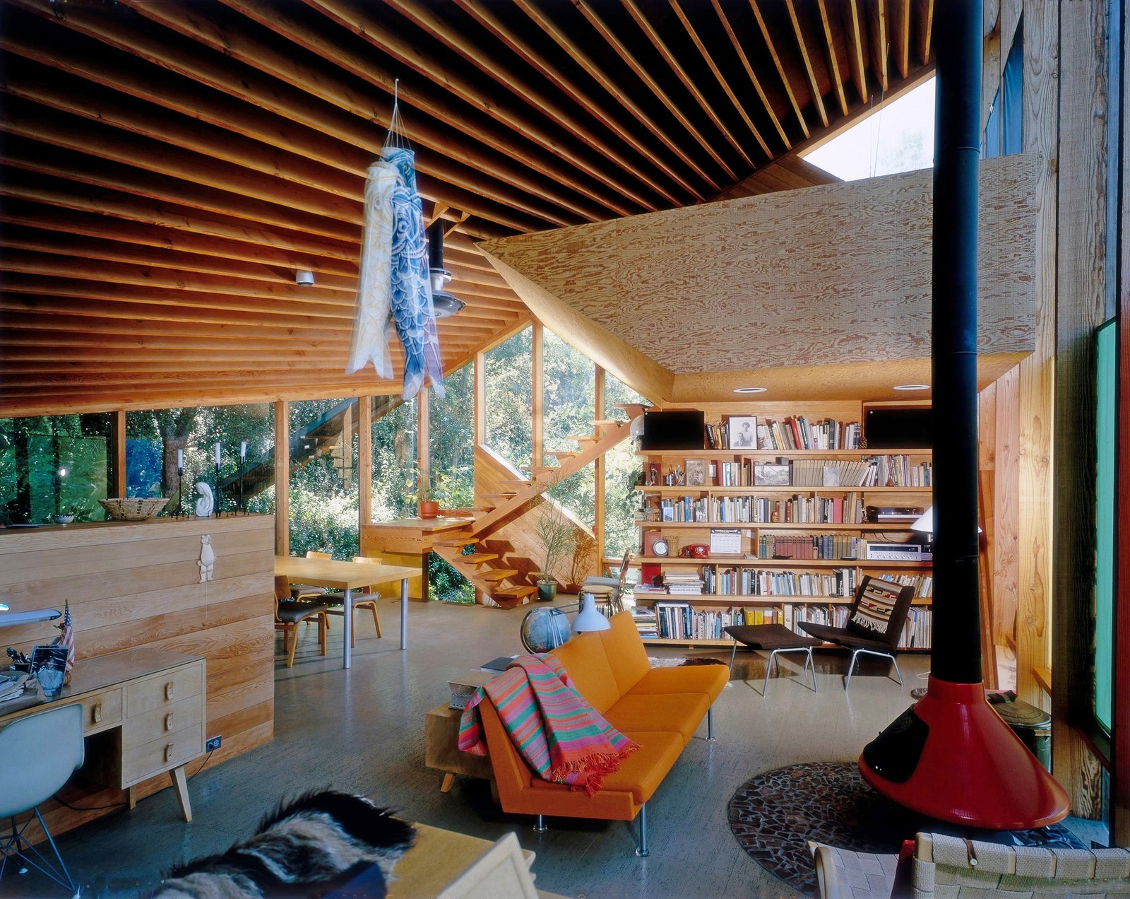 Walstrom House by John Lautner, Los Angeles, CA, 1979