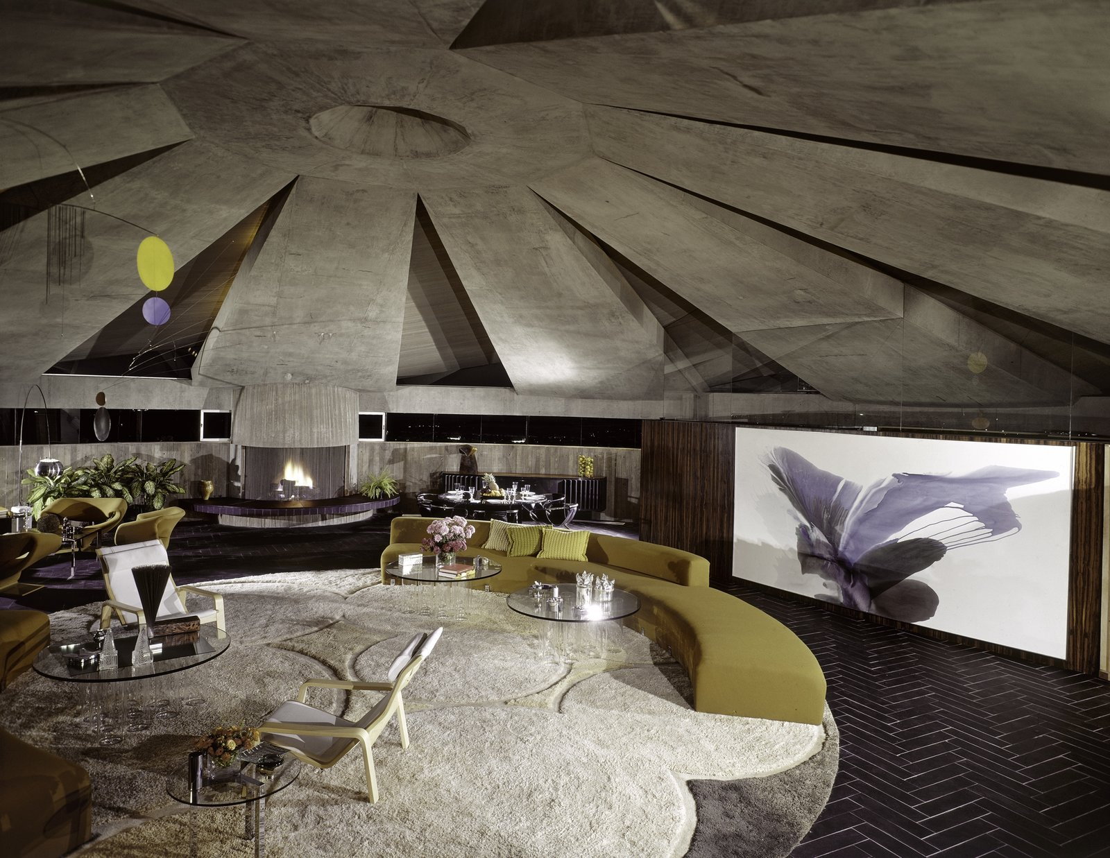 Elrod House, Palm Springs, CA - John Lautner, 1968