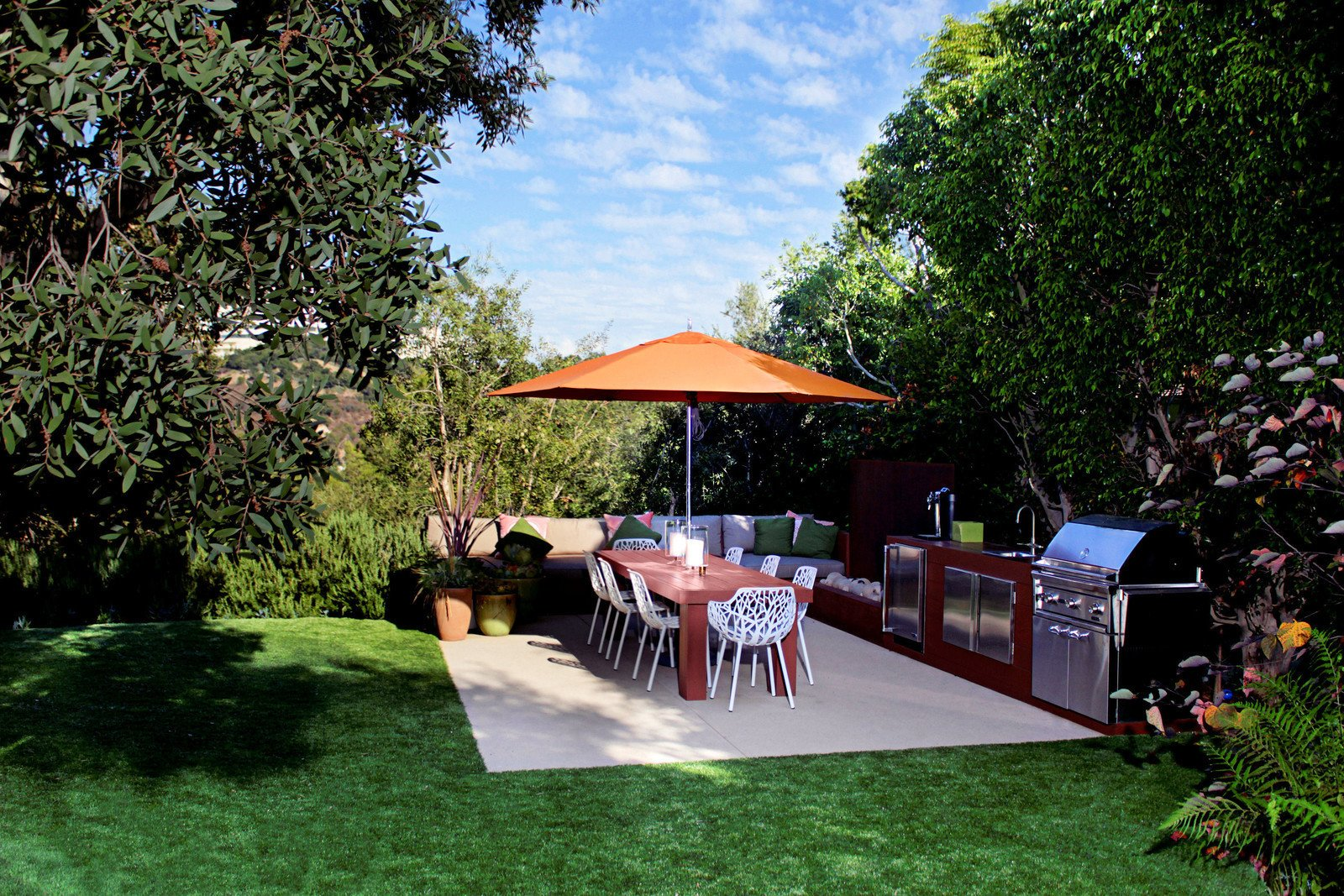 Photo 3 of 8 in 7 Steps to Creating Your Own Outdoor Barbecue Area For Summer Entertaining