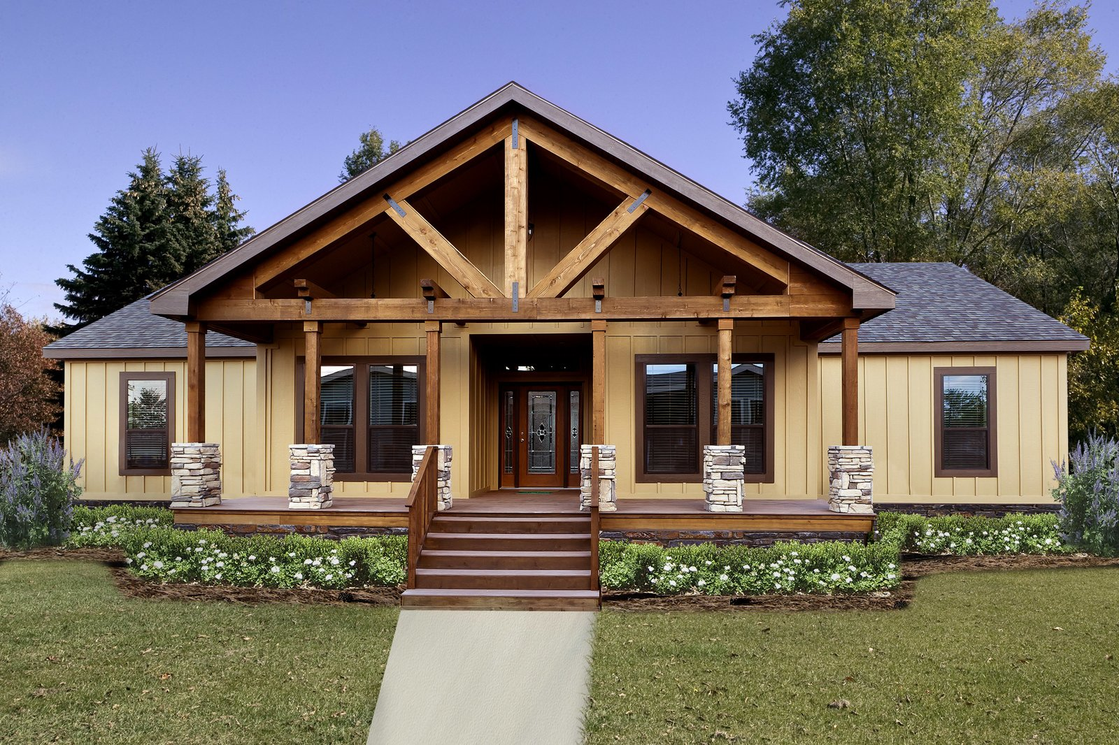 Pratt modular homes are budget friendly and customizable, with over 300 standard kit home floor plans to choose from with an infinite number of possibilities.  Photo 9 of 11 in 10 Kit Home Companies in the South