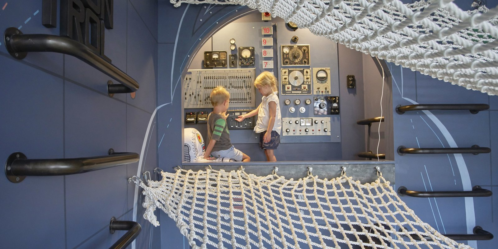 Tagged: Kids Room, Toddler Age, and Neutral Gender.  Photo 1 of 9 in Child's Play: Designing a Polished, All-Ages Playscape