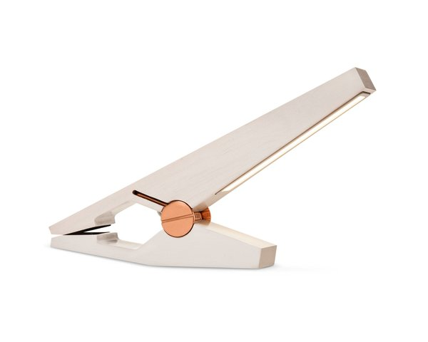 Modern by Dwell Magazine White LED Clip Light