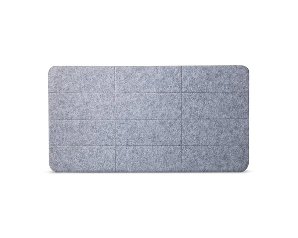 Modern by Dwell Magazine Gray Felt Pin Board