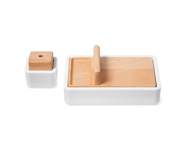 Modern by Dwell Magazine Pencil Sharpener and Bin Duo