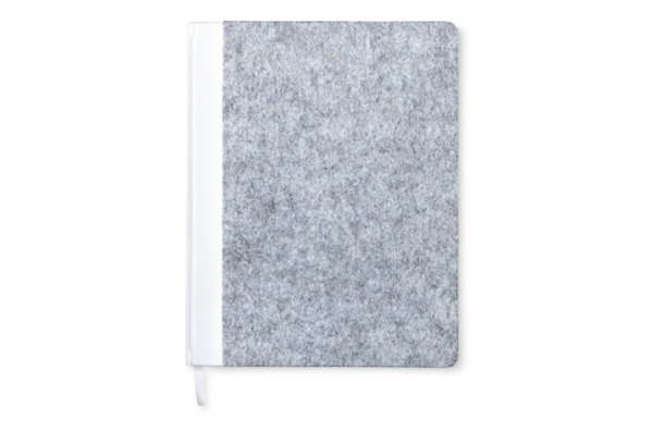 Modern by Dwell Magazine White Felt Notebook