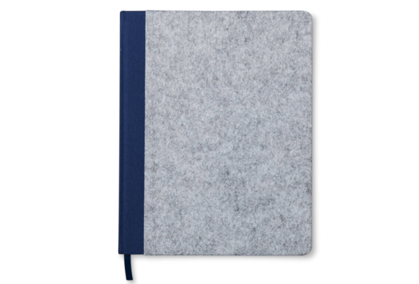 Modern by Dwell Magazine Navy Felt Notebook