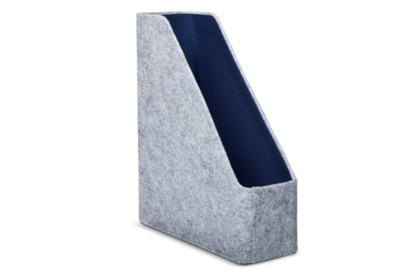 Modern by Dwell Magazine Navy Felt Magazine File