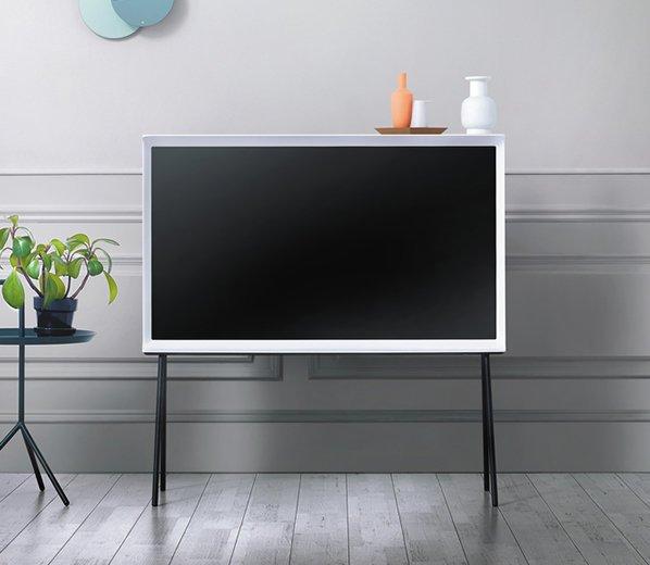 "Photo 1 of 1 in Samsung 40"" Class Serif 4K UHD TV"