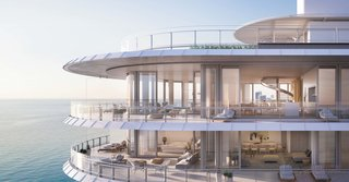 Sneak Peek of Renzo Piano's New Stunning Oceanfront Condominiums in Miami's North Beach - Photo 1 of 7 - Take a peek into the expansive residences that seem to float over the ocean.