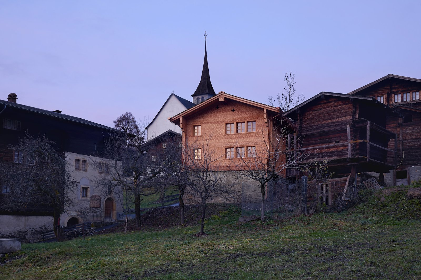 Tagged: Outdoor and Front Yard. A Renovated Pagan House in the Swiss Alps Puts Guests in Touch With the Past - Photo 1 of 13