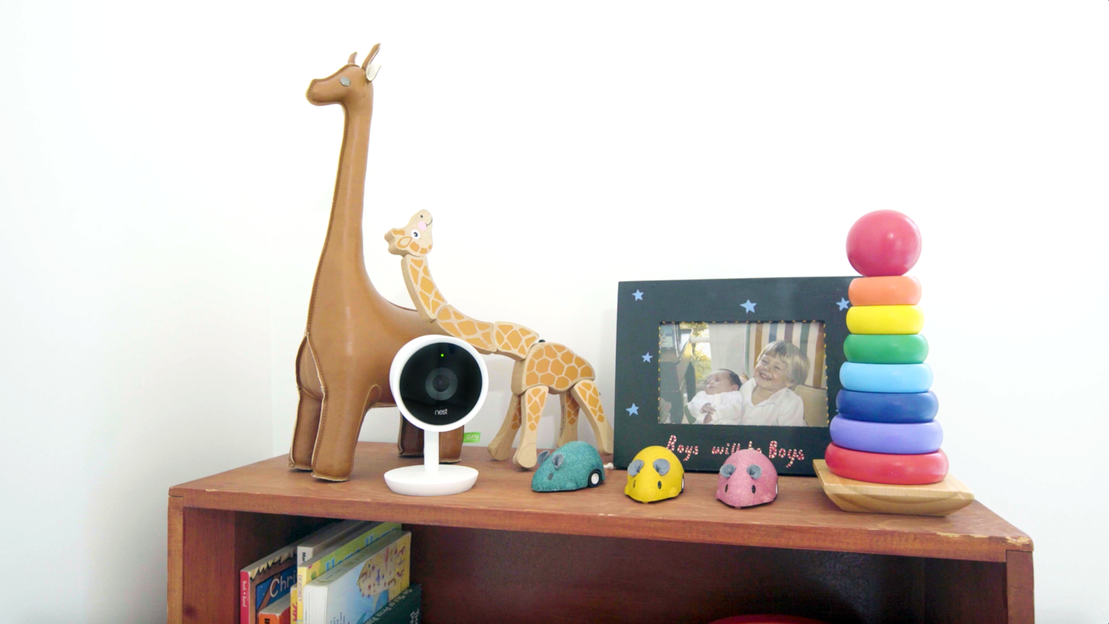 """It's great to be able to check in anytime or be notified if something is going on. I find the little reminders about the family's activity in the house to be a fun distraction throughout my day that makes me feel closer to my family than before we used Nest Cam IQ,"" says David.* Tagged: Kids Room and Storage.  Best Photos from Revamping the San Francisco Vernacular, Modern Design and Technology Serves A Busy Family"