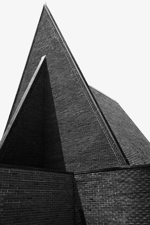 The First Babtist Church, Harry Weese, 1965  Photo 17 of 19 in Ode to a Forward-Thinking America: Columbus, Indiana