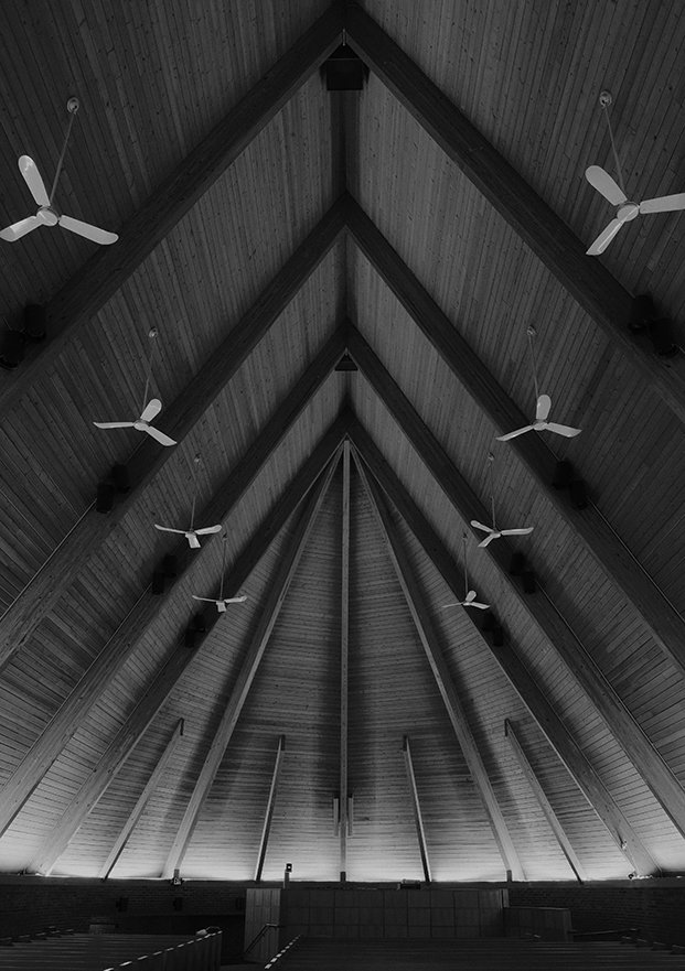 The First Babtist Church, Harry Weese, 1965  Photo 18 of 19 in Ode to a Forward-Thinking America: Columbus, Indiana