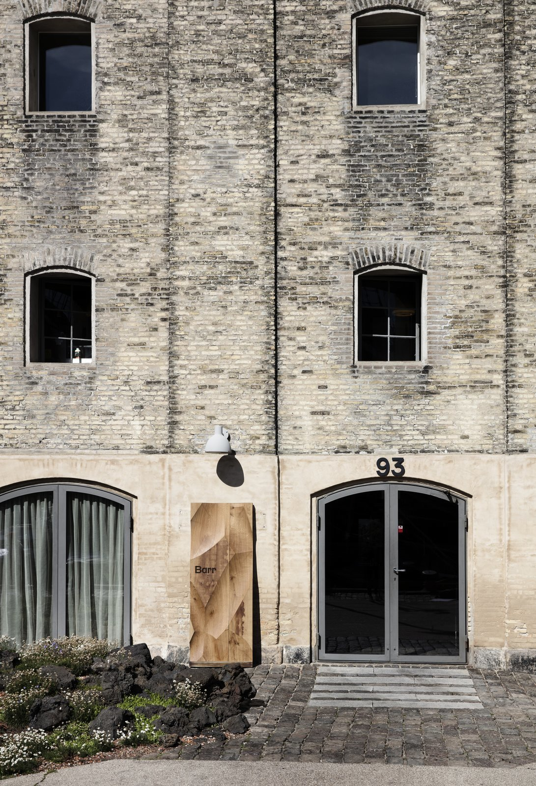 Barr opened its doors on July 5 and can be found on Copenhagen's waterfront inside the Nordatlantens Brygge (North Atlantic House).  Photo 2 of 10 in Snøhetta Designs the Interiors of Barr, the Noma Group's New  Copenhagen Restaurant