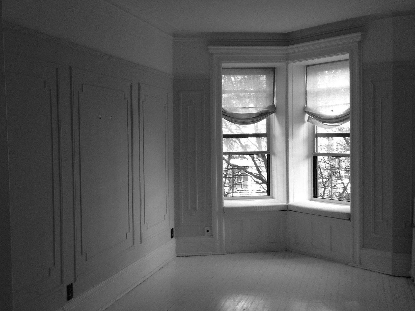Tagged: Windows.  Photo 2 of 13 in A Pair of Designers Renovate Their Brooklyn Brownstone With a Bright Monochromatic Palette