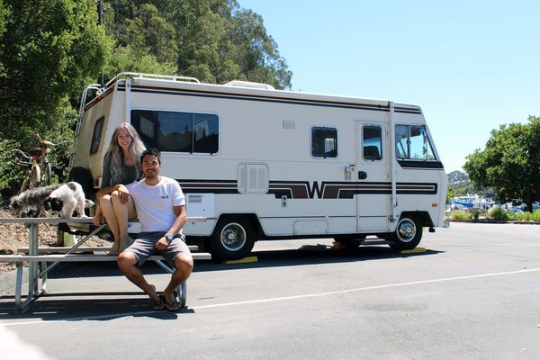 Photo 1 of 13 in A Portland Couple Renovate a 1982 RV, Turning It Into Their New Home