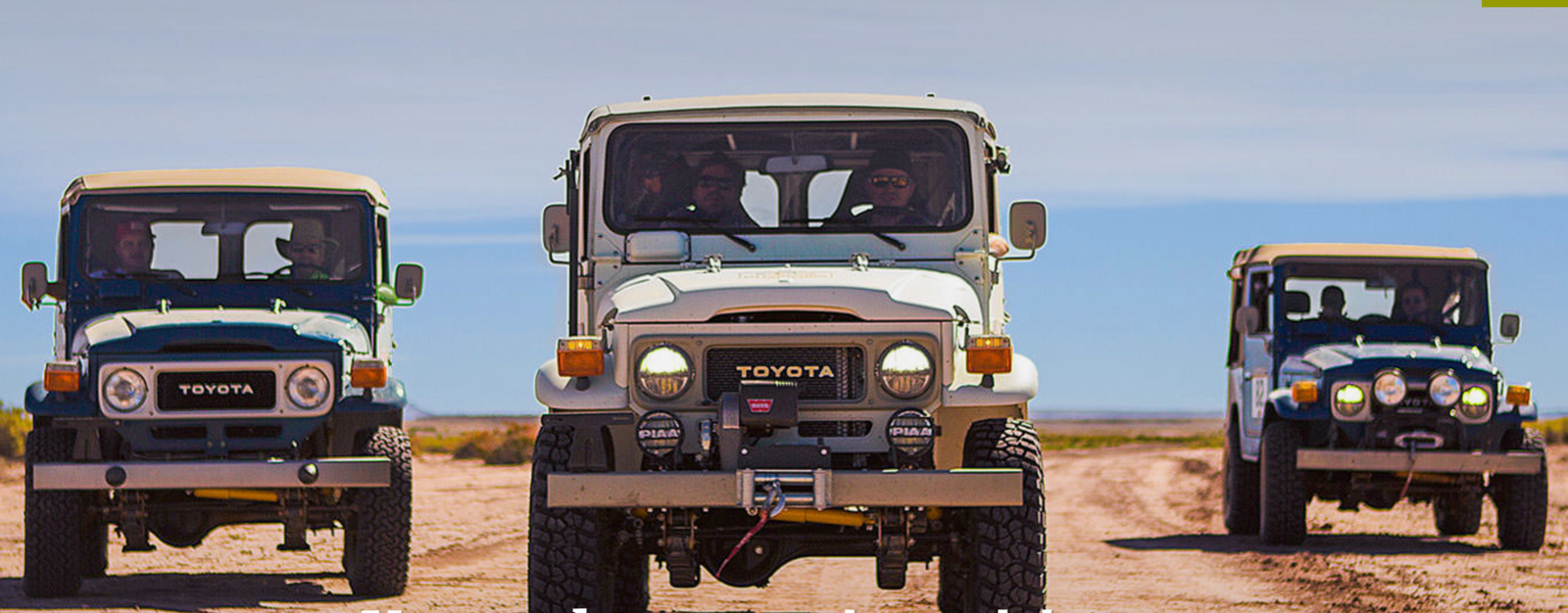 Why not take the path less travelled in your own 1982 Toyota Land Cruiser, completely rebuilt to your specifications? FJ Company's vision is to create a family-friendly traveller that's fit enough for the rigors of driving in the Colorado backcountry and equally as sure-footed on big-city freeways. It's one part classic Land Cruiser, one part