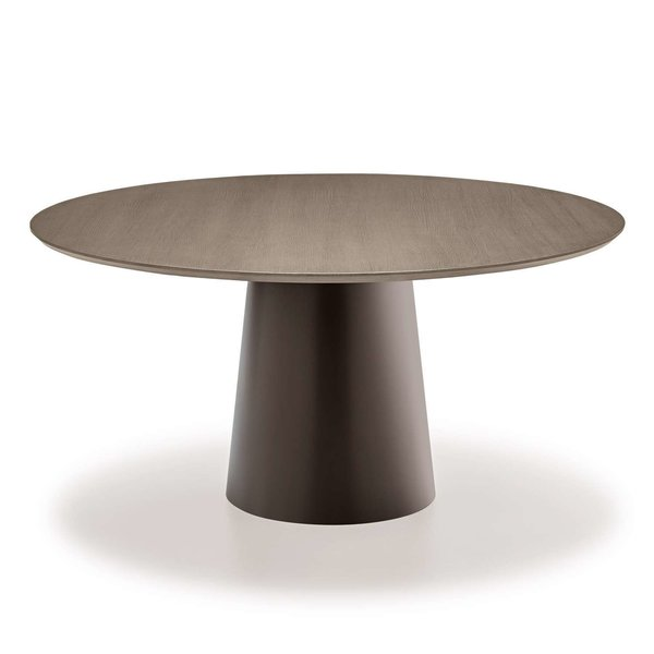 Totem Wood Round Dining Table