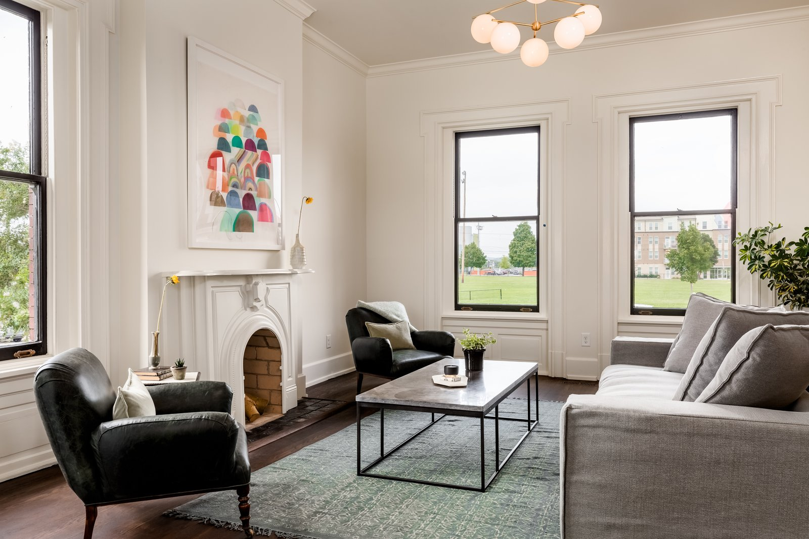 Photo 3 of 14 in Modern Interiors Shine Behind the 19th-Century Facade of This Nashville Home, Now Asking $2.1M