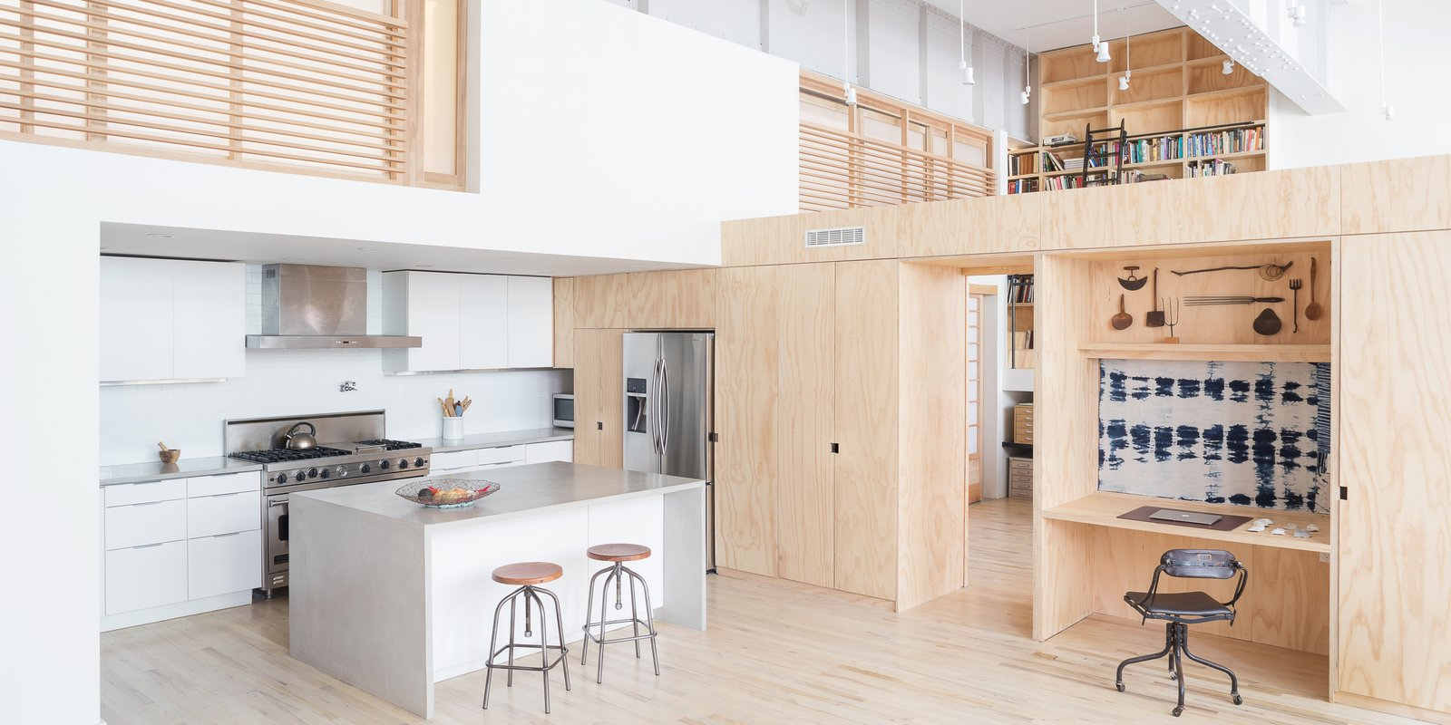 A 19th-Century Carriage House Is Transformed Into a Live/Work Residence For a Pair of Artists