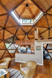 It Took Seven Years to Build This Geodesic Dome by Hand—and it's Now Listed For $889K - Photo 3 of 11 -