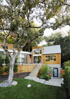 Space and Storage Needs Guide the Expansion of a Family's Cottage North of San Francisco - Photo 1 of 12 - Formerly a one-bedroom cabin, the Mill Valley, California, home of Tim and Stefanie Rosa more than doubled in size after a renovation and addition by Pfau Long Architecture.